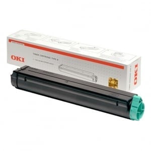 OKI Black Toner (2,500 pages)