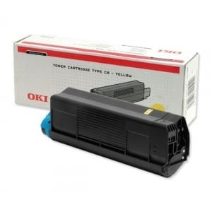OKI High Cap Yellow Toner (5,000 pages)