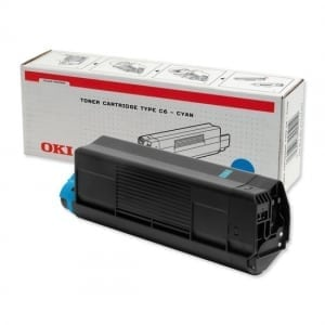 OKI High Cap Cyan Toner (5,000 pages)