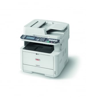 OKI MB472dnw A4 Mono Multifunction LED Laser Printer